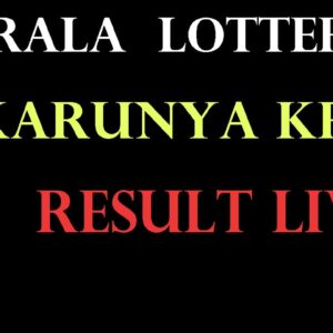 Live: Bhagyakuri Karunya Lottery Result KR 471   31-10-2020 Kerala Karunya Lottery Results