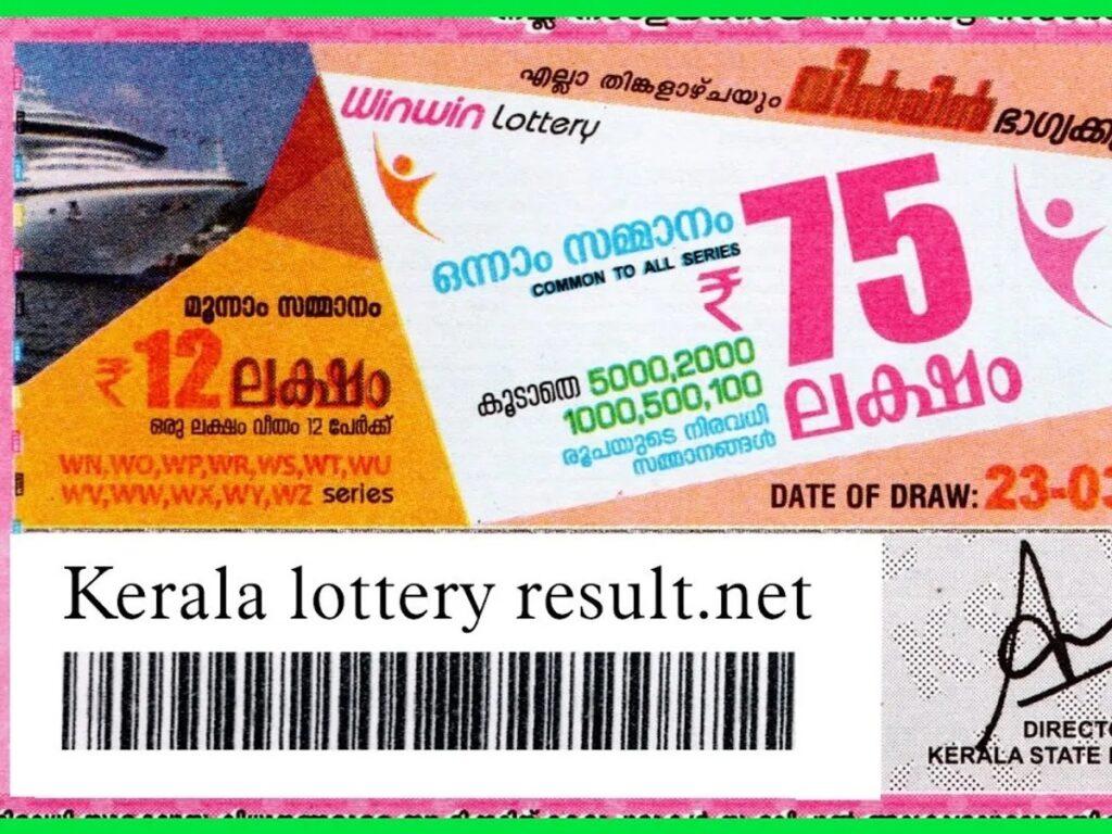 Kerala win win bhagyakauri lottery result