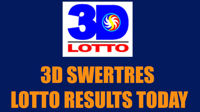 3D Swertres Lotto Result Today, Monday, October 26, 2020 from PCSO