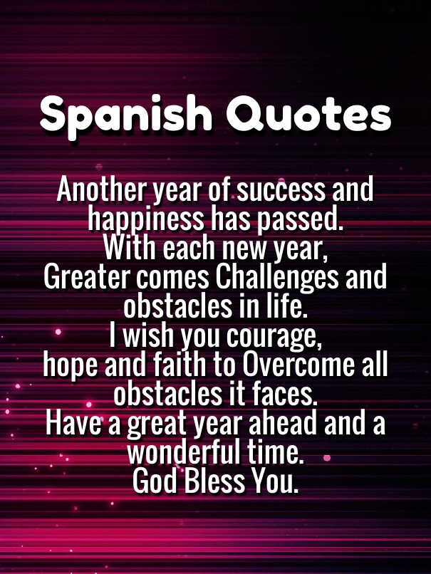 Happy New Year Images 2021 Wishes in Spanish