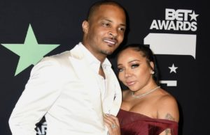 Rapper T.I and His Wife Tiny