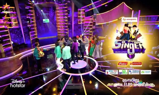 Star Vijay Super Singer 8 Start Date, Time, Contestant List