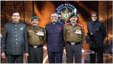 KBC Grand Finale: Subedar Major Yogendra Singh Yadav and Subedar Sanjay Singh, Amitabh's guests, gave tribute to Army