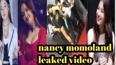 Nancy Momoland leaked video images