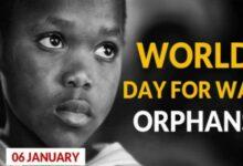 World War Orphan Day Wishes 2021
