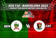 BEN vs CAT Live Score Dream11 Match Prediction Playing X1 Pitch Report