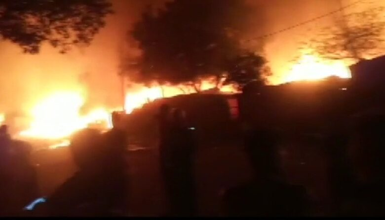 Delhi Okhala Fire Live Updates: 27 fire Brigade Vehicles on the Spot