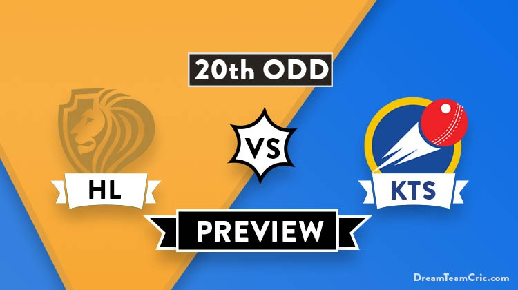 HL vs KTS Dream11 Prediction Fantasy Cricket Tips: Playing XI, Pitch Report