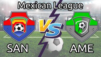 SAN vs AME Live Score Team Squad Mexican League Dream11 Prediction