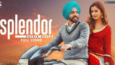 "Satbir ahuja Song ""Splendor"" Released Check Lyrics and Latest News"