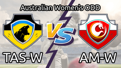 TAS-W vs AM-W Live Score Australian Women's ODD Lineup Dream11 Prediction & Team Squad