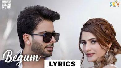 Mankrit Aulakh New Song Begum Lyrics