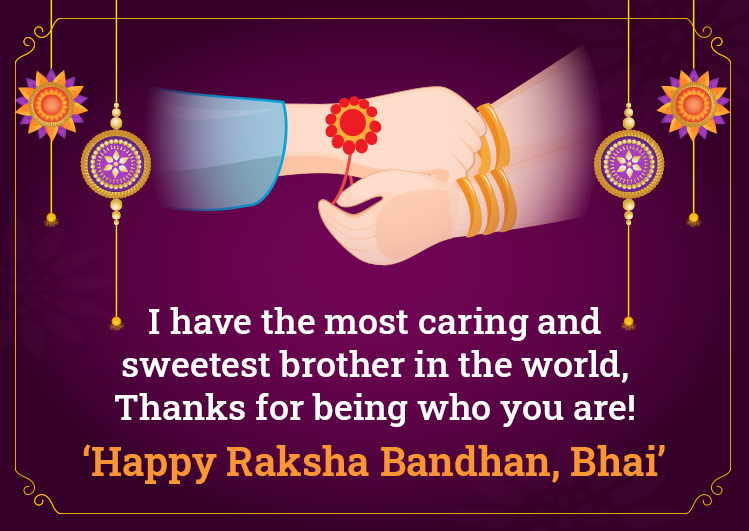 Raksha Bandhan Quotes & Wishes 2021