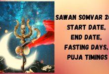 Sawan Somwar 2021 Fasting Date