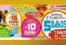 Bhagamithra Lottery Result
