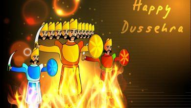 Happy Dussehra 2021 Greetings Ravan Fireworks Video Photos Whatsapp FP DP Images