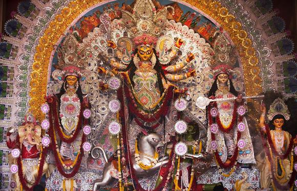 Happy Durga Puja SMS Wishes Greetings Whatsapp Status